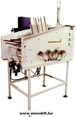 ECONOCORP Econolock Dobozhajtogató és záró gép, gyűjtő-egyedi, tálcás