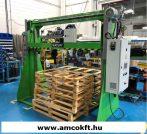 PLASTICBAND MATURI-V Pántológép raklapos áruhoz, vertikális, automata