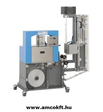 ATS US2100 TTP Bandázsoló gép széles szalagokhoz, nyomtatóval