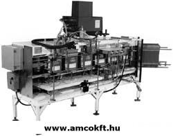 ECONOCORP V-System Doboz hajtogató és záró gép, egyedi, függőleges