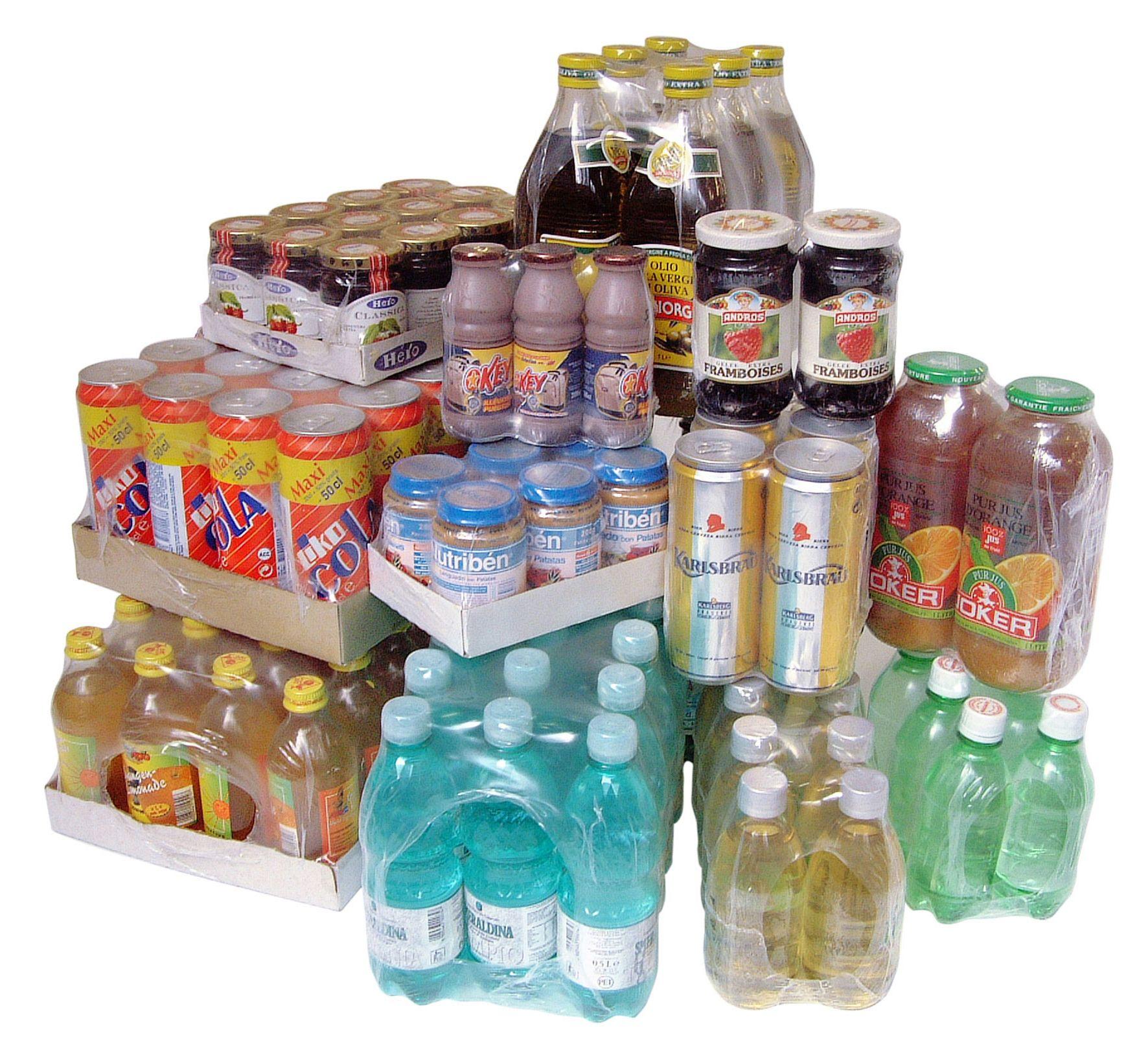 Ölelőfóliázott termékek